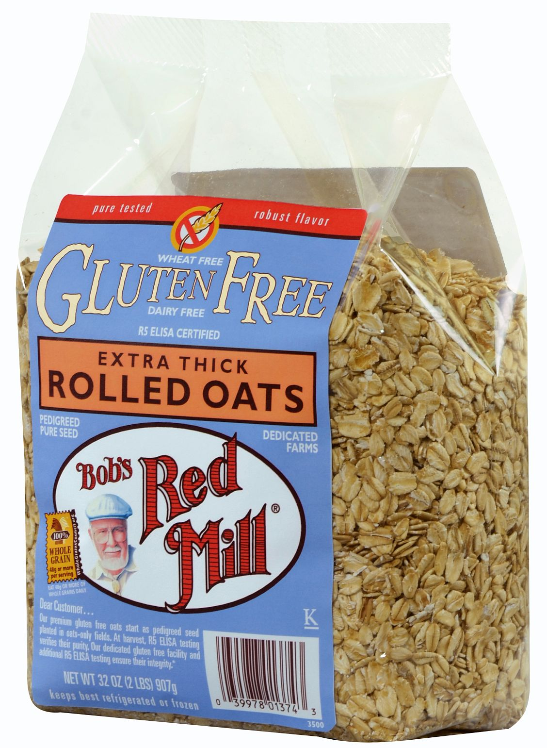 Do rolled oats contain gluten